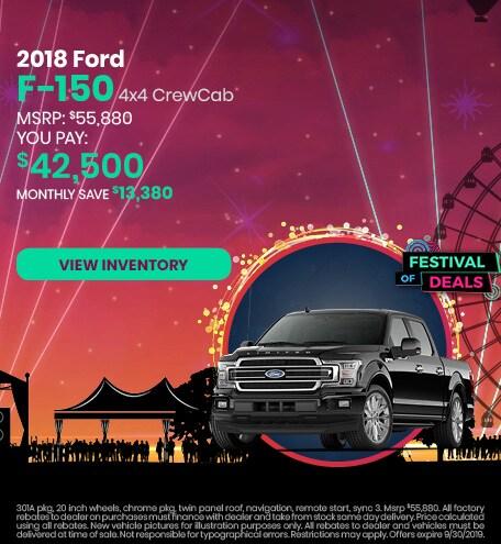 September 2019 Ford F-150 Lease