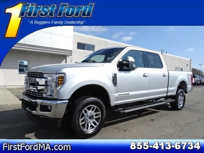 Certified Used 2018 Ford F-250SD Lariat Crew Cab 4x4 Truck For Sale Fall River, MA