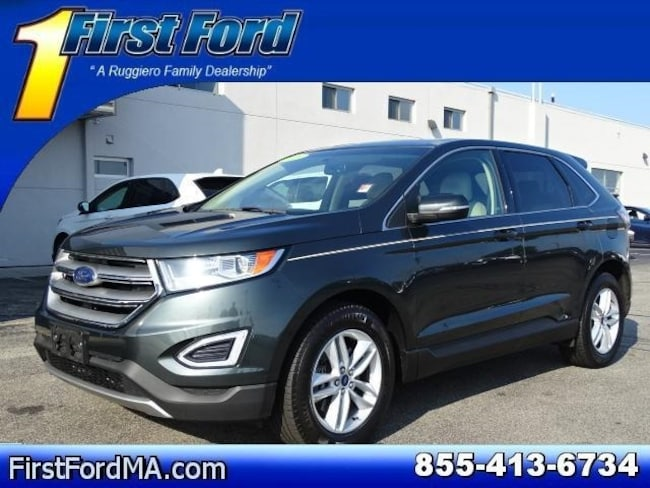 Certified Used 2015 Ford Edge SEL AWD SUV For Sale Fall River, MA