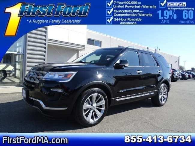 Certified Used 2018 Ford Explorer Limited AWD SUV For Sale Fall River, MA