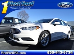New 2018 Ford Fusion SE Sedan Fall River Massachusetts