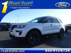New 2019 Ford Explorer Sport SUV Fall River Massachusetts