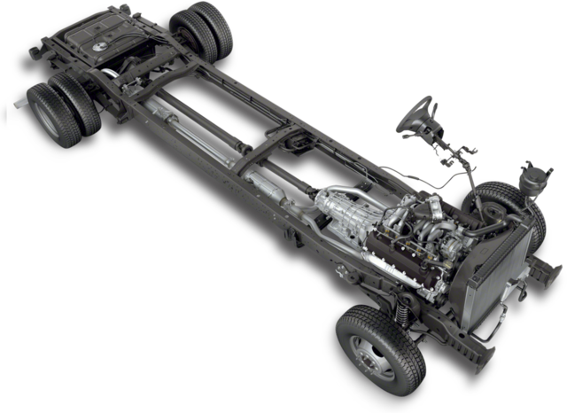 New Ford Commercial Stripped Chassis Fall River