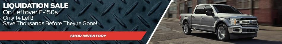 2018 F-150 Liquidation Sale