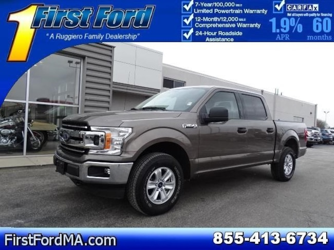 Certified Used 2018 Ford F-150 XLT Truck For Sale Fall River, MA