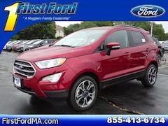 New 2018 Ford EcoSport SE SUV Fall River Massachusetts