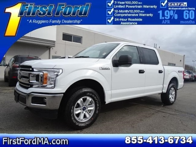 Certified Used 2018 Ford F-150 XLT Crew Cab 4x4 Truck For Sale Fall River, MA