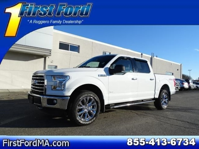 Certified Used 2016 Ford F-150 XLT Supercrew 4x4 Navigation Truck For Sale Fall River, MA