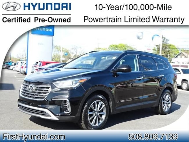 Certified-Used 2018 Hyundai Santa Fe SE SUV For-Sale-North-Attleboro-MA