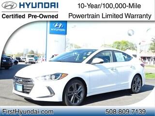 Certified Used 2017 Hyundai Elantra Limited Sedan North Attleboro Massachusetts