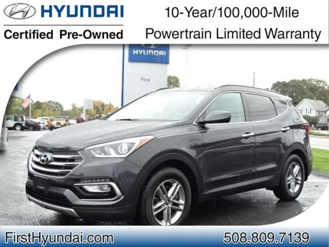 Certified-Used 2017 Hyundai Santa Fe Sport 2.4 Base SUV For-Sale-North-Attleboro-MA