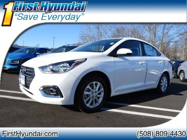 New 2019 Hyundai Accent SEL Sedan For Sale North Attleboro