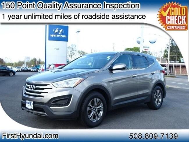 Certified-Used 2015 Hyundai Santa Fe Sport 2.4L SUV For-Sale-North-Attleboro-MA