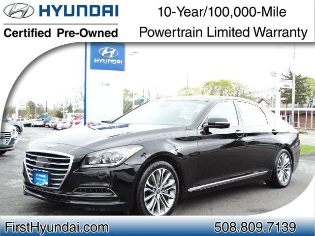 Hyundai Certified Pre-Owned >> Certified Used 2015 Hyundai Genesis North Attleboro Massachusetts