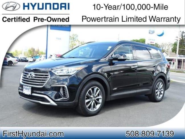 Certified-Used 2017 Hyundai Santa Fe SE SUV For-Sale-North-Attleboro-MA