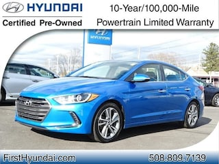 Used 2017 Hyundai Elantra Limited Sedan for-sale-in-North-Attleboro