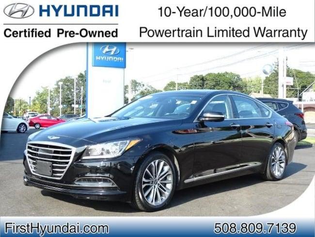 Certified-Used 2015 Hyundai Genesis 3.8 Sedan For-Sale-North-Attleboro-MA