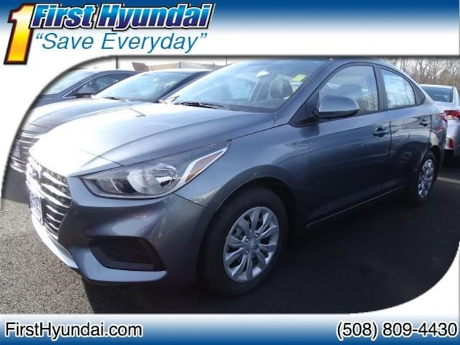 New 2019 Hyundai Accent SE Sedan For Sale North Attleboro