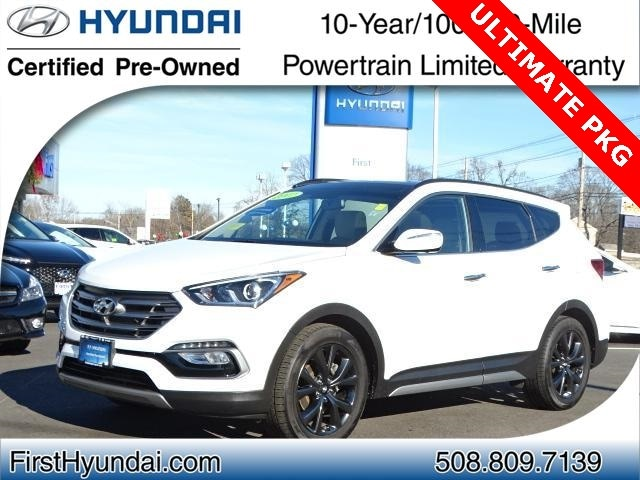 2017 Hyundai Santa Fe Sport 2.0L Turbo Ultimate SUV North Attleboro Massachusetts