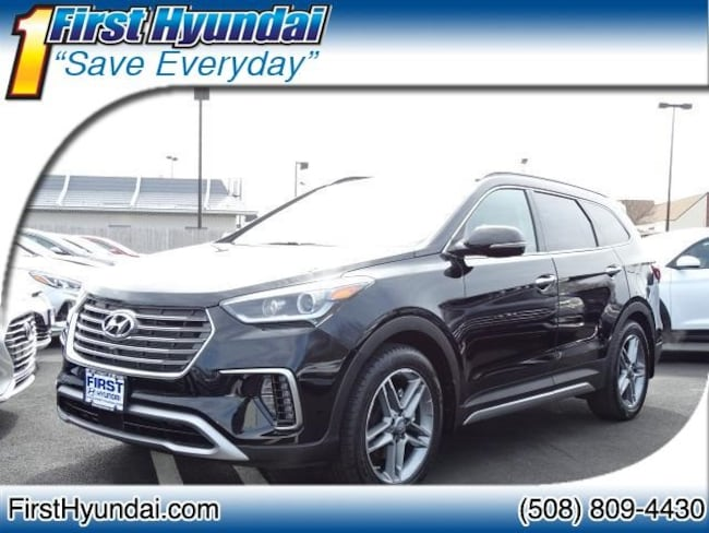 New 2018 Hyundai Santa Fe Limited Ultimate SUV For Sale North Attleboro