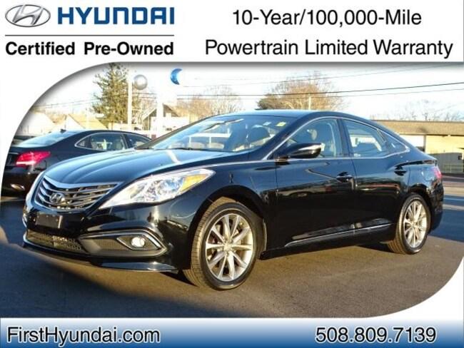 Certified-Used 2016 Hyundai Azera Base Sedan For-Sale-North-Attleboro-MA