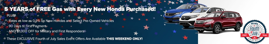 EXCLUSIVE Fourth of July Sales Event Offers Available THIS WEEKEND ONLY!