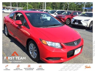 2012 Honda Civic 2dr Auto EX Pzev Car