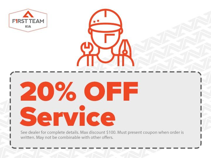 20% OFF Service
