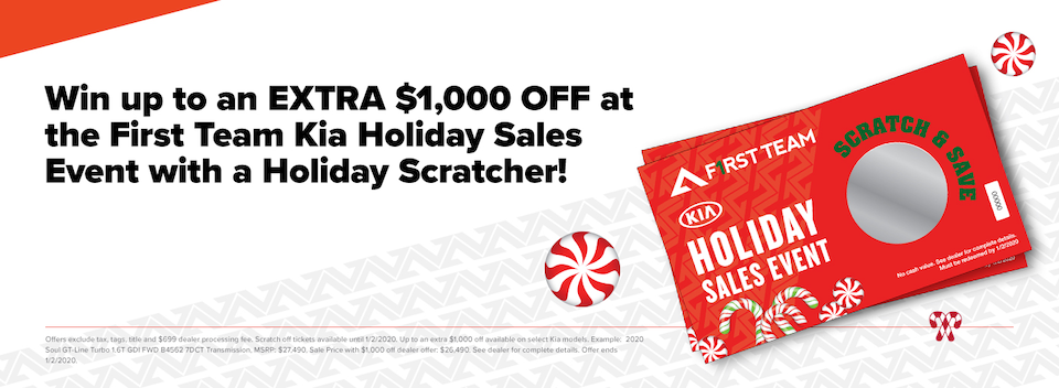 Save with a Holiday Scratcher