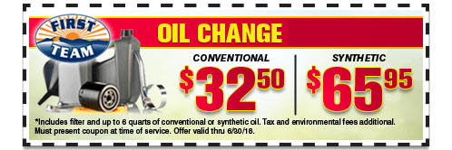 Oil Change. Offer ...