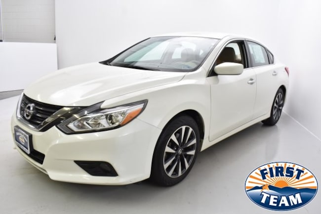 First Team Nissan >> Used 2016 Nissan Altima For Sale At First Team Hyundai Vin
