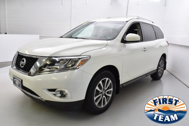 First Team Nissan >> Used 2016 Nissan Pathfinder For Sale At First Team Hyundai Vin