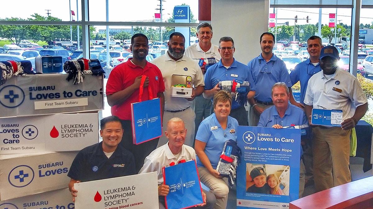 First Team Subaru >> First Team Subaru Community Service Roanoke Valley Va