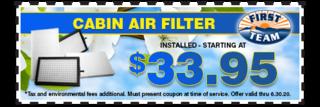 Cabin air filter