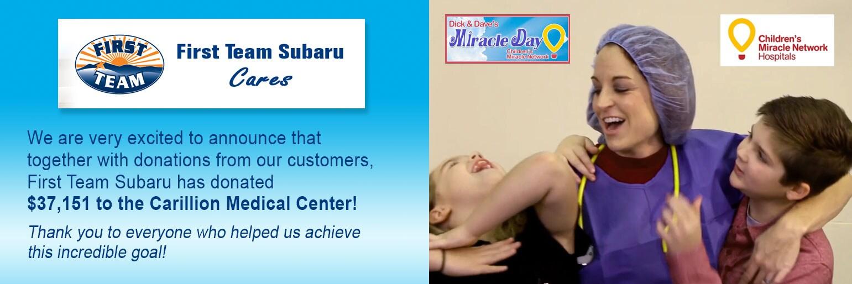 First Team Subaru >> First Team Subaru Share The Love Roanoke Virginia