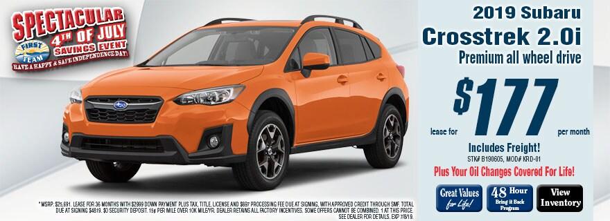 First Team Subaru >> Subaru Crosstrek Roanoke Va First Team Subaru