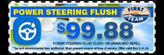 Power Steering Fluid Special