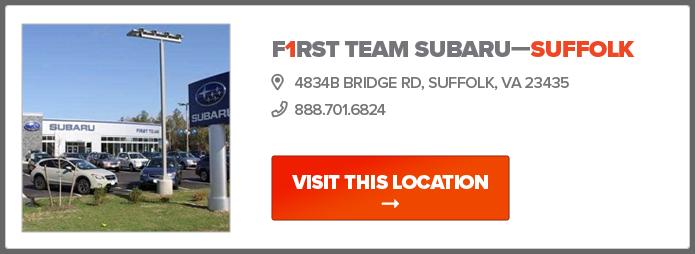 First Team Subaru >> First Team Subaru New Dealership In Norfolk And Suffolk Va