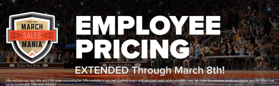 Employee Pricing EXTENDED