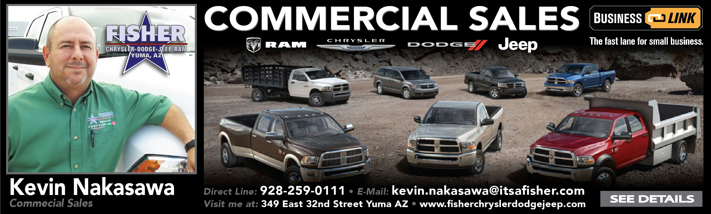 Hyundai Of Yuma >> Commercial Vehicles | Yuma, AZ & El Centro, CA | Fisher CDJR