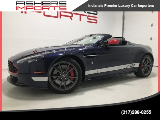 Used 2015 Aston Martin Vantage Gt For Sale At Fishers Imports Vin