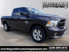 New 2019 Ram 1500 CLASSIC EXPRESS QUAD CAB 4X2 6'4 BOX Quad Cab 1C6RR6FG8KS515363 in Fitzgerald, GA