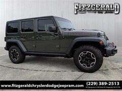 Used 2015 Jeep Wrangler Unlimited Rubicon 4x4 SUV in Fitzgerald, GA
