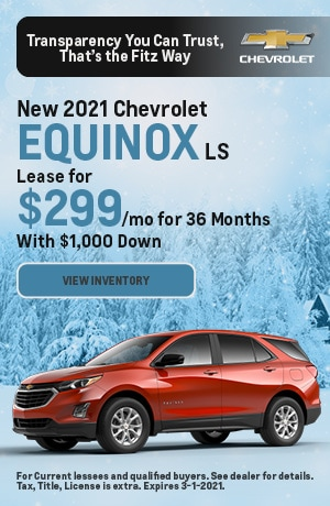 February | 2021 Chevrolet Equinox | Lease