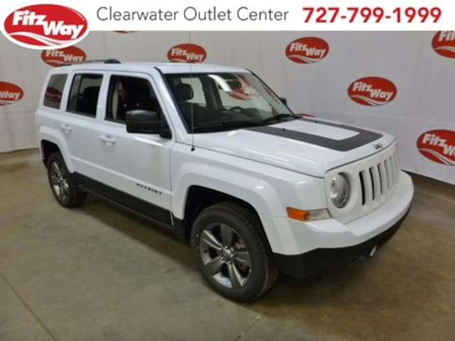 Used 2016 Jeep Patriot For Sale At Fitzgerald Mitsubishi Vin