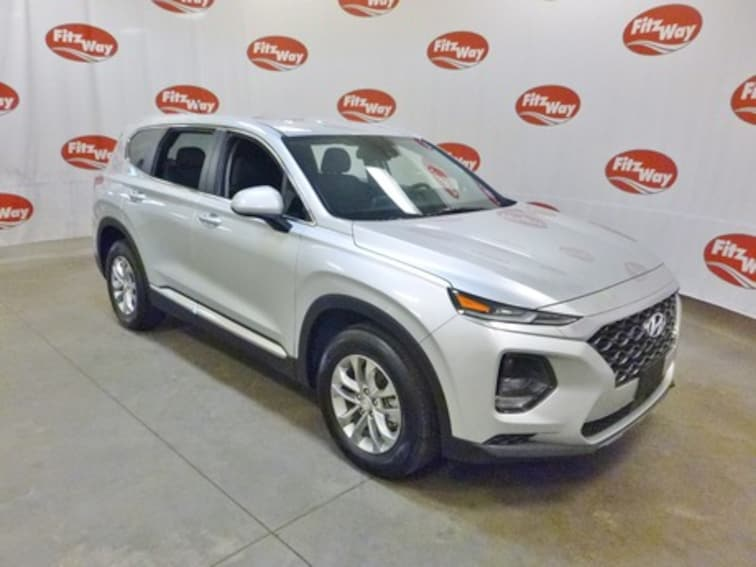 Certified Used 2019 Hyundai Santa Fe SE 2.4 SUV 5NMS23AD1KH010593 in Clearwater