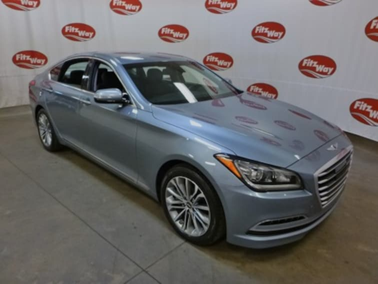 Certified Used 2017 Genesis G80 3.8 Sedan KMHGN4JE1HU187671 in Clearwater