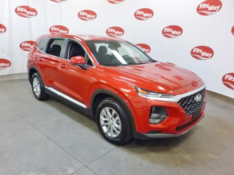 Certified Used 2019 Hyundai Santa Fe SE 2.4 SUV 5NMS23AD0KH005837 in Clearwater