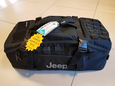 Jeep Convertible Backpack/Duffel Bag Only $89.95!