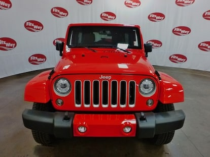 Used 2018 Jeep Wrangler 4-Door For Sale at Fitzgerald's